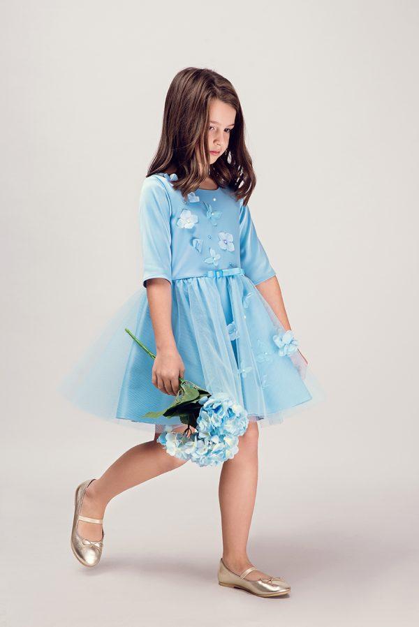 rochie fata 10 ani