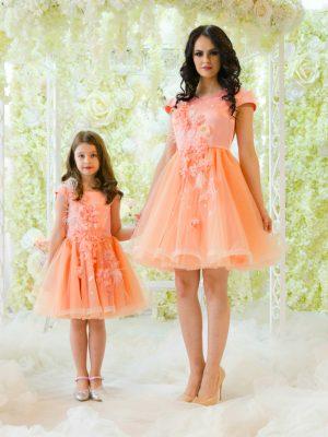 Set mama-fiica Peach Ballerina