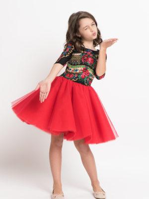 rochie fata 7 ani