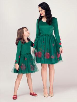 set rochii mama fiica Green Fairy