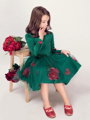 rochie fetita Green Fairy