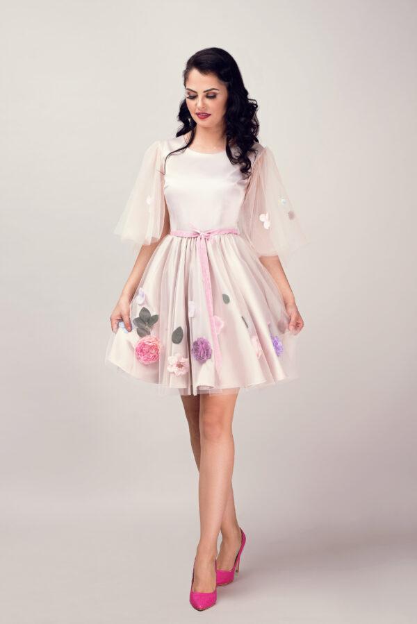 rochie ocazie Beige Lilac