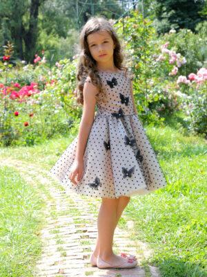 rochie fetita Black Butterflies