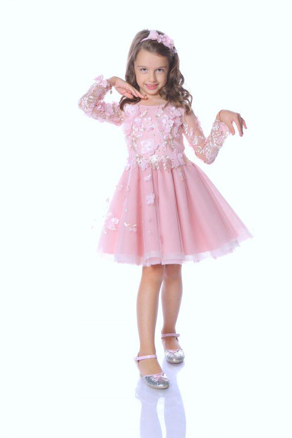 rochie fetita Powder Pink