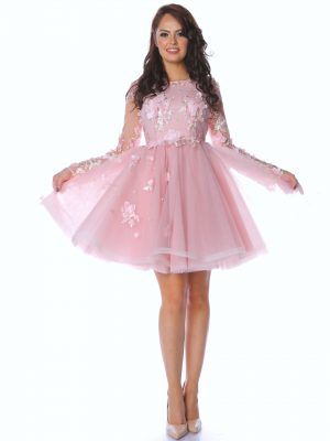 rochie dama Powder Pink