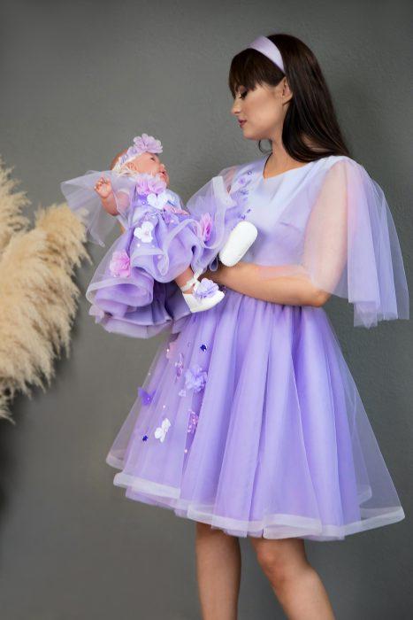 rochii mama fiica Lavender Dress