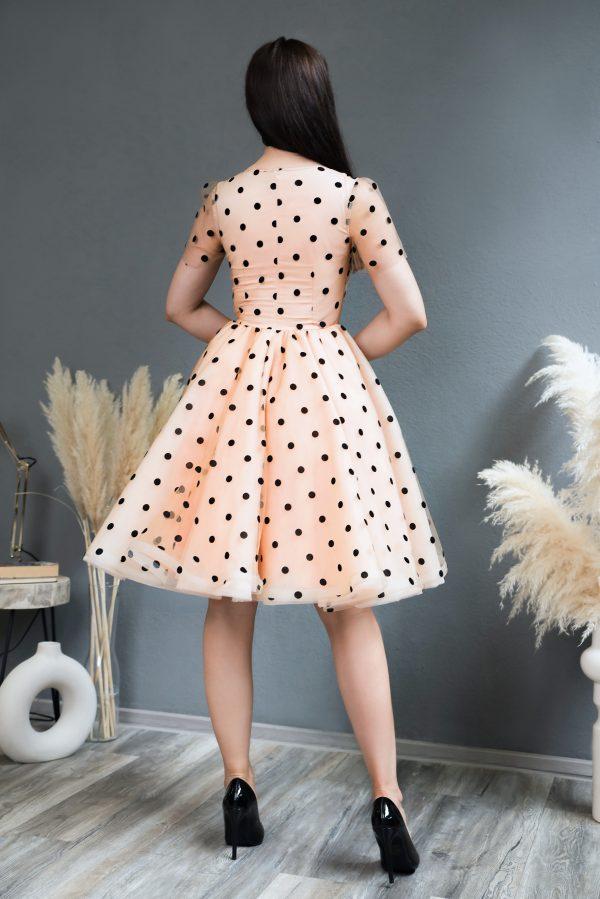 Rochie de ocazie Black Dots Dress