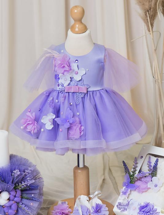 rochie botez Lavender