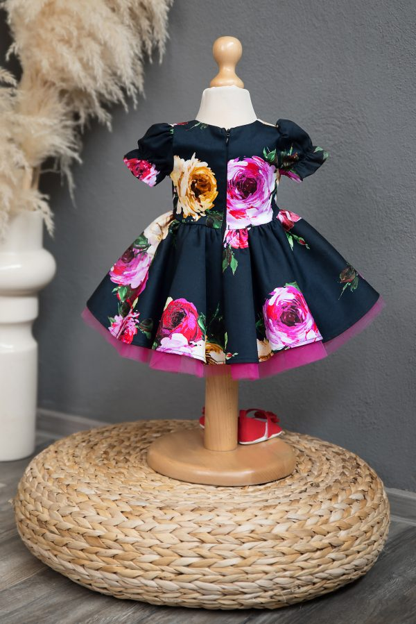 Rochie fetita Navy Rose Girl Dress